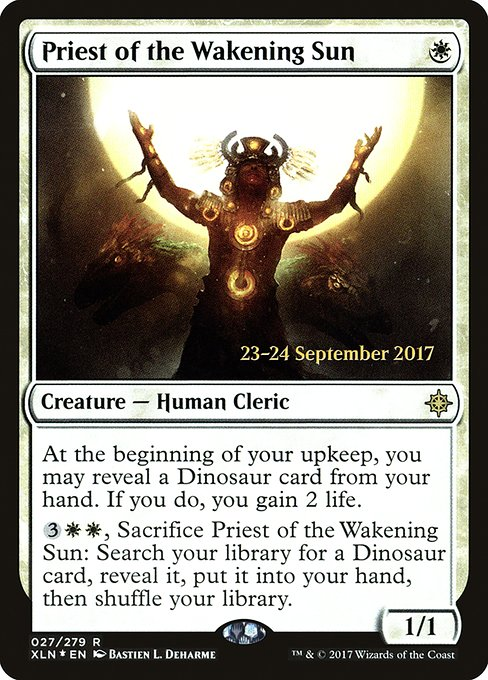 Priest of the Wakening Sun (PXLN)