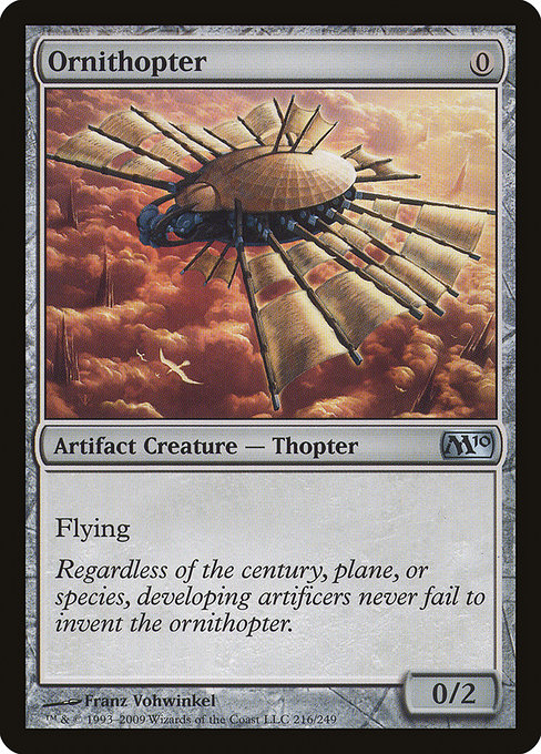 Ornithopter (M10)