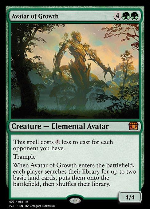 Avatar of Growth (PZ2)