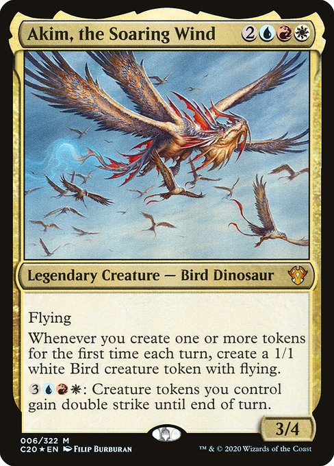 Akim, the Soaring Wind (C20)