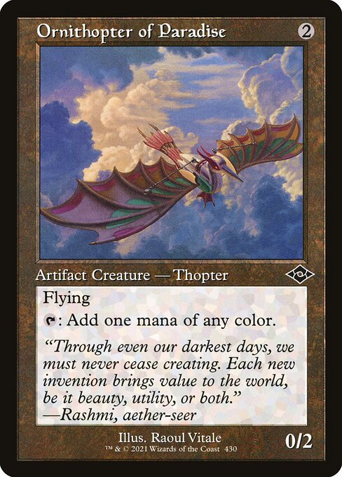 Ornithopter of Paradise (MH2)