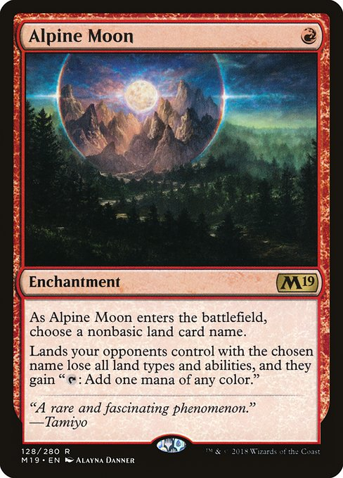 Alpine Moon - Magic: the Gathering