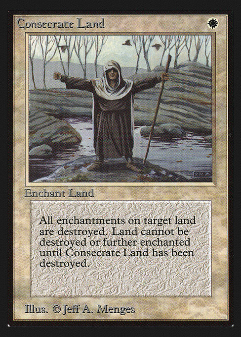 Consecrate Land (CED)