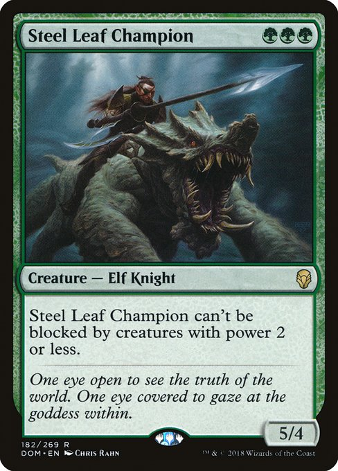 Steel Leaf Champion (DOM)