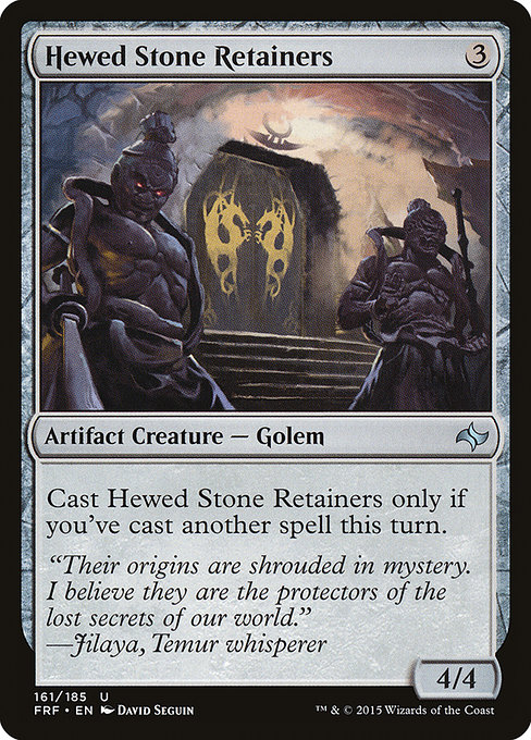 Hewed Stone Retainers (FRF)