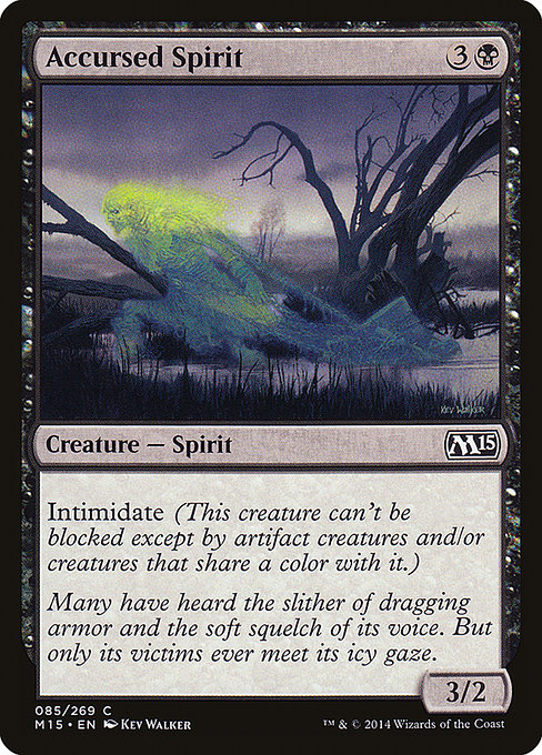 Accursed Spirit (M15)