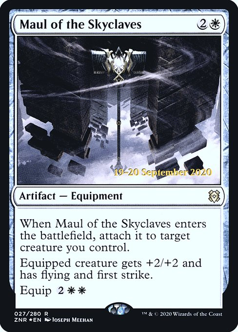 Maul of the Skyclaves (PZNR)