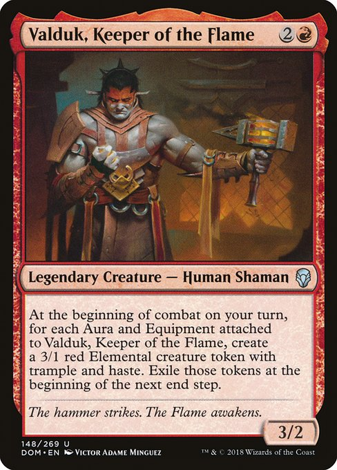 Valduk, Keeper of the Flame (DOM)