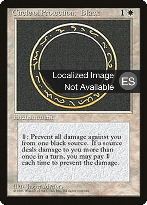 Circle of Protection: Black (4BB)
