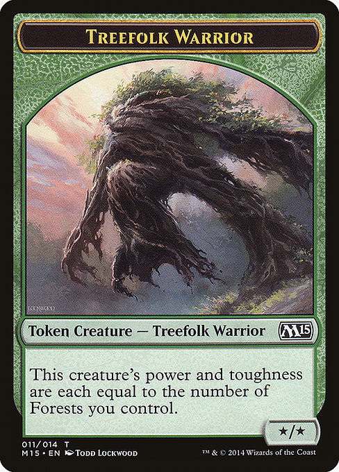 Treefolk Warrior (TM15)