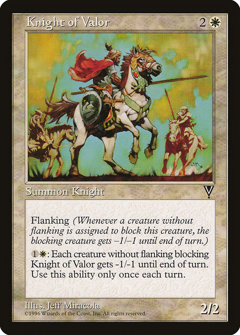 Knight of Valor (VIS)