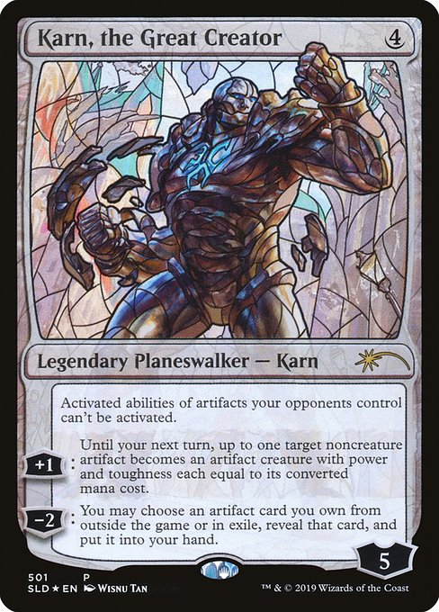 Karn, the Great Creator (SLD)