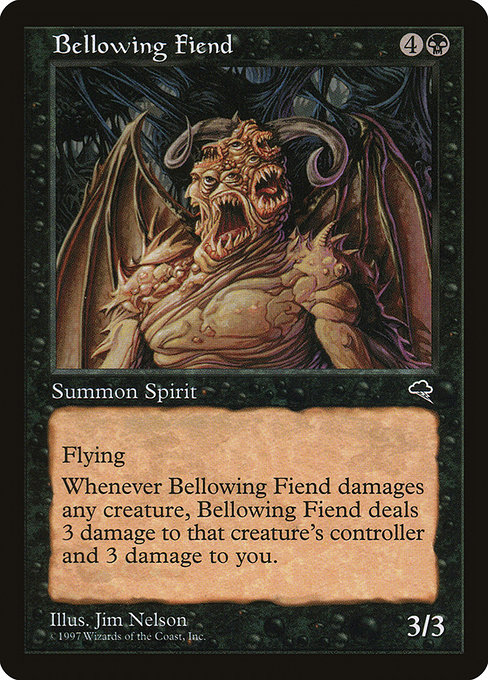 Bellowing Fiend (TMP)