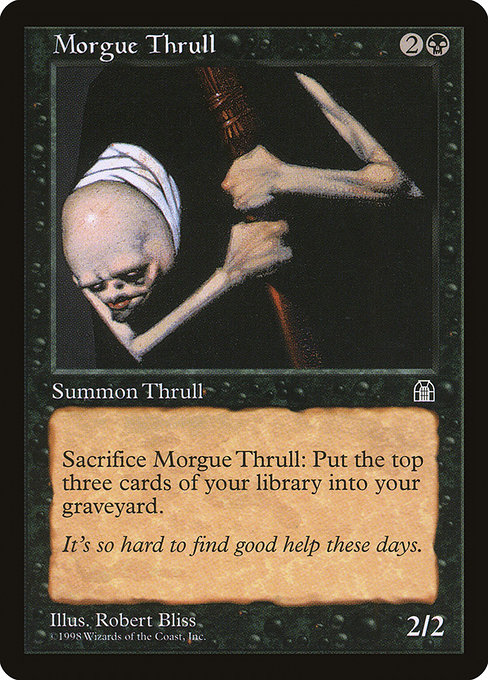 Morgue Thrull (STH)