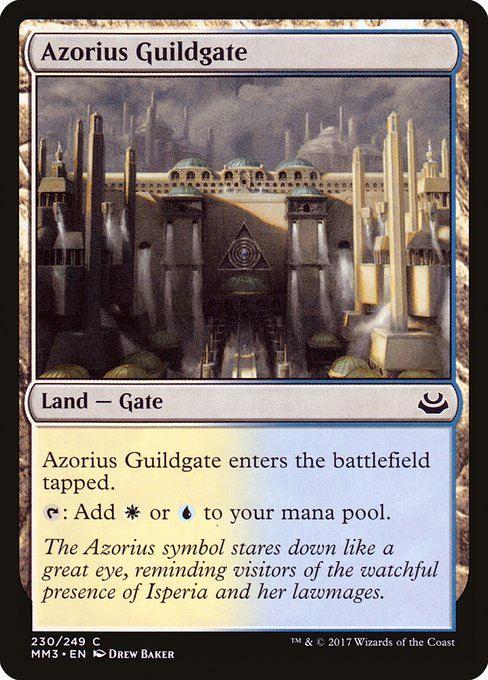 Azorius Guildgate (MM3)
