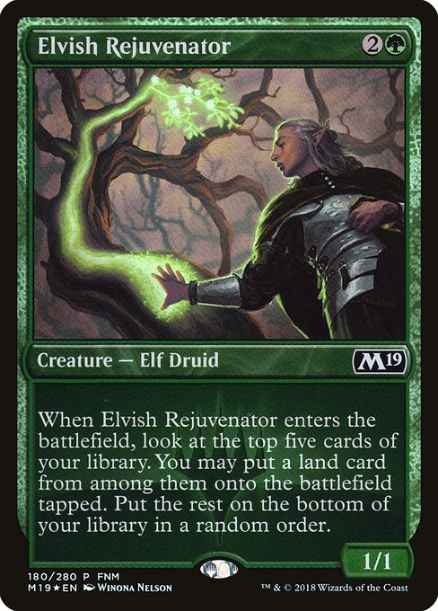Elvish Rejuvenator (PM19)