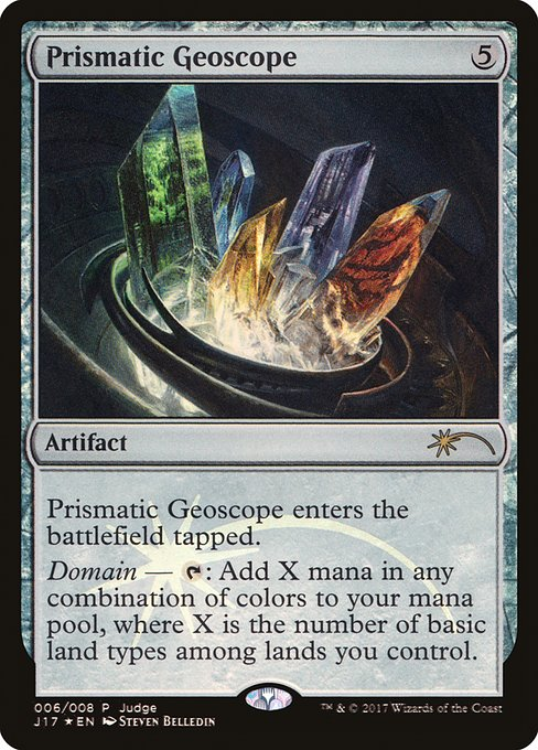 Prismatic Geoscope (J17)