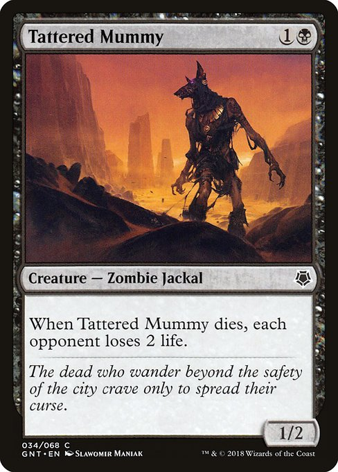 Tattered Mummy (GNT)