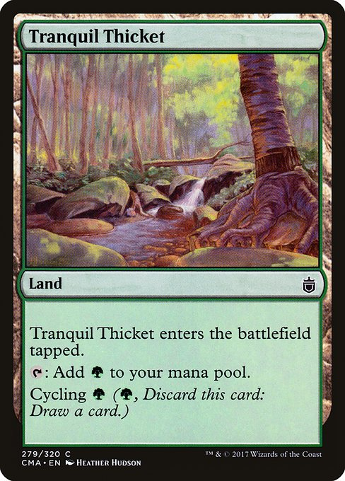 Tranquil Thicket (CMA)