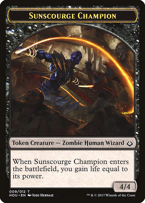 Sunscourge Champion (THOU)