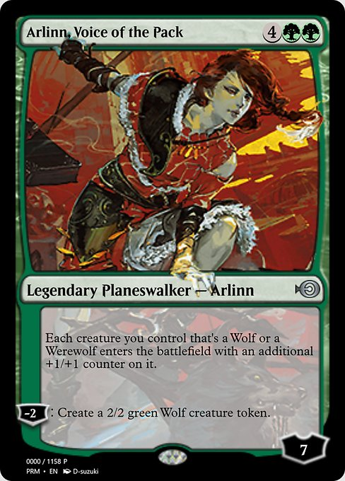 Arlinn, Voice of the Pack (PRM)