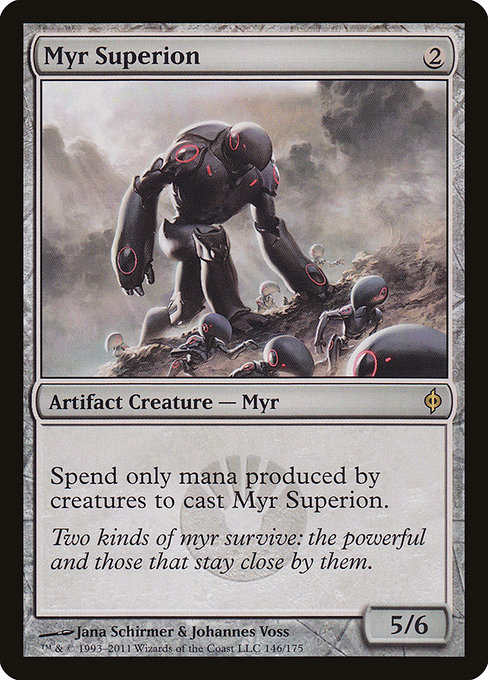Myr Superion - New Phyrexia