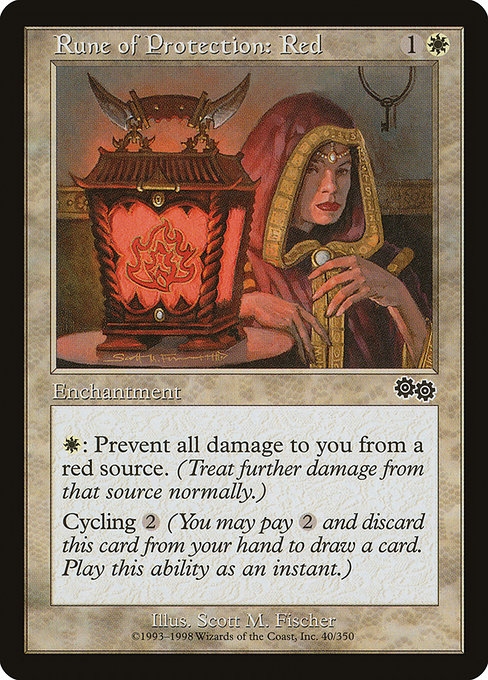 Rune of Protection: Red (USG)
