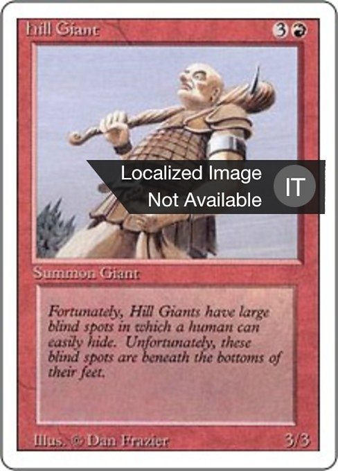 Hill Giant (3ED)