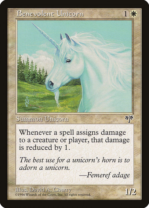 Benevolent Unicorn (MIR)