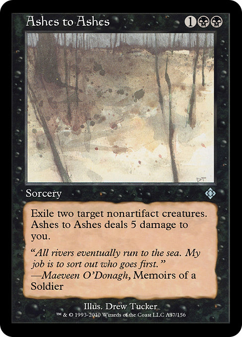 Ashes to Ashes (TD0)