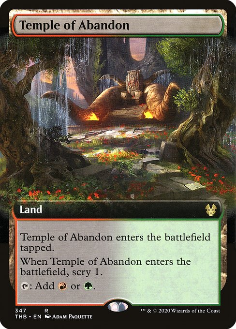 Temple of Abandon (THB)