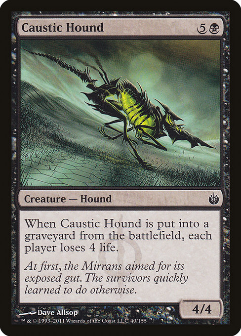 Caustic Hound (MBS)