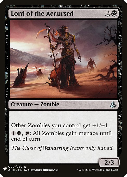 Lord of the Accursed (MB1)