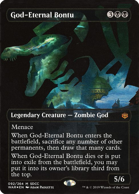 God-Eternal Bontu (PS19)