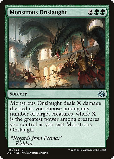 Monstrous Onslaught (AER)