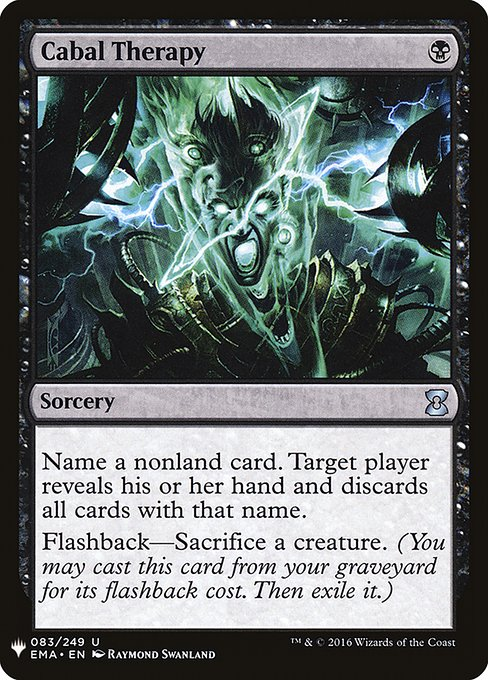 Cabal Therapy (MB1)
