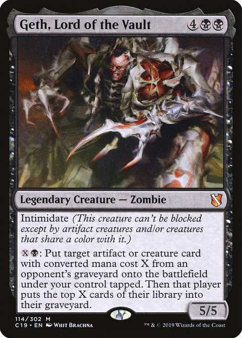 Geth, Lord of the Vault (C19)