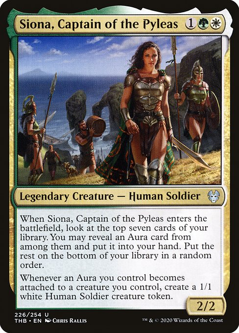 Siona, Captain of the Pyleas (THB)