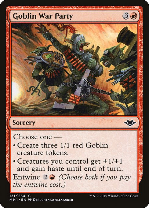 Goblin War Party (MH1)