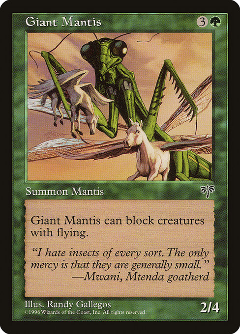 Giant Mantis (MIR)