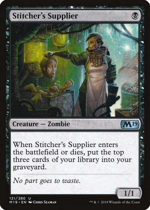 Stitcher's Supplier (M19)