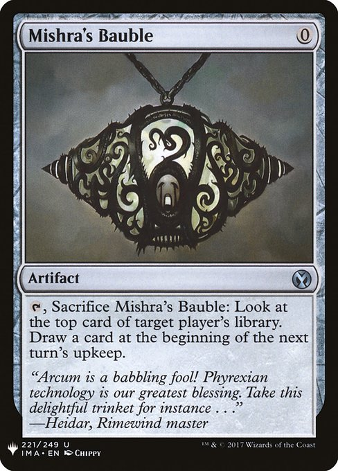Mishra's Bauble (MB1)