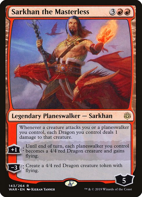 Sarkhan the Masterless (WAR)