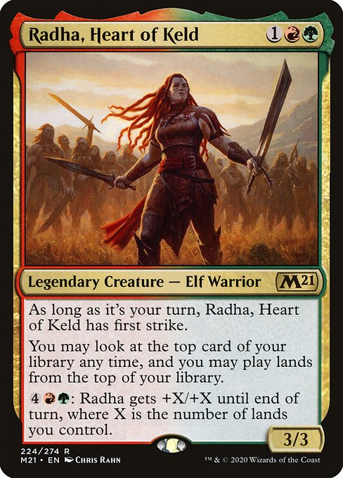 Radha, Heart of Keld (M21)