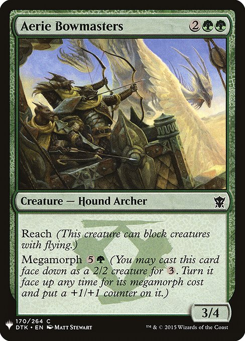 Aerie Bowmasters (MB1)