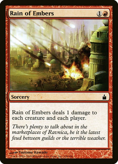 Rain of Embers (RAV)