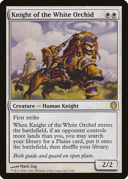 Knight of the White Orchid (DDG)