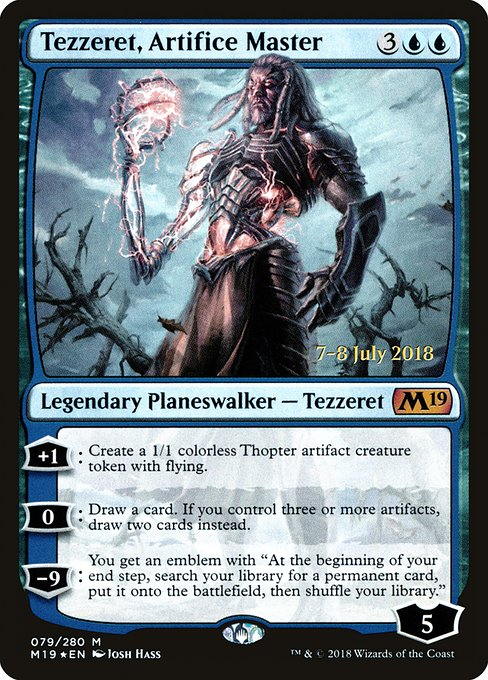 Tezzeret, Artifice Master (PM19)
