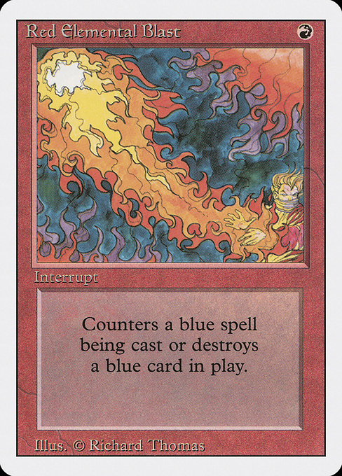 Red Elemental Blast (3ED)