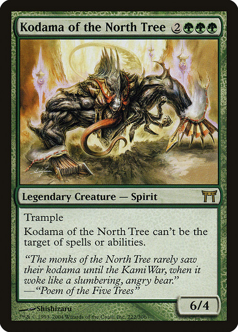 Kodama of the North Tree (CHK)